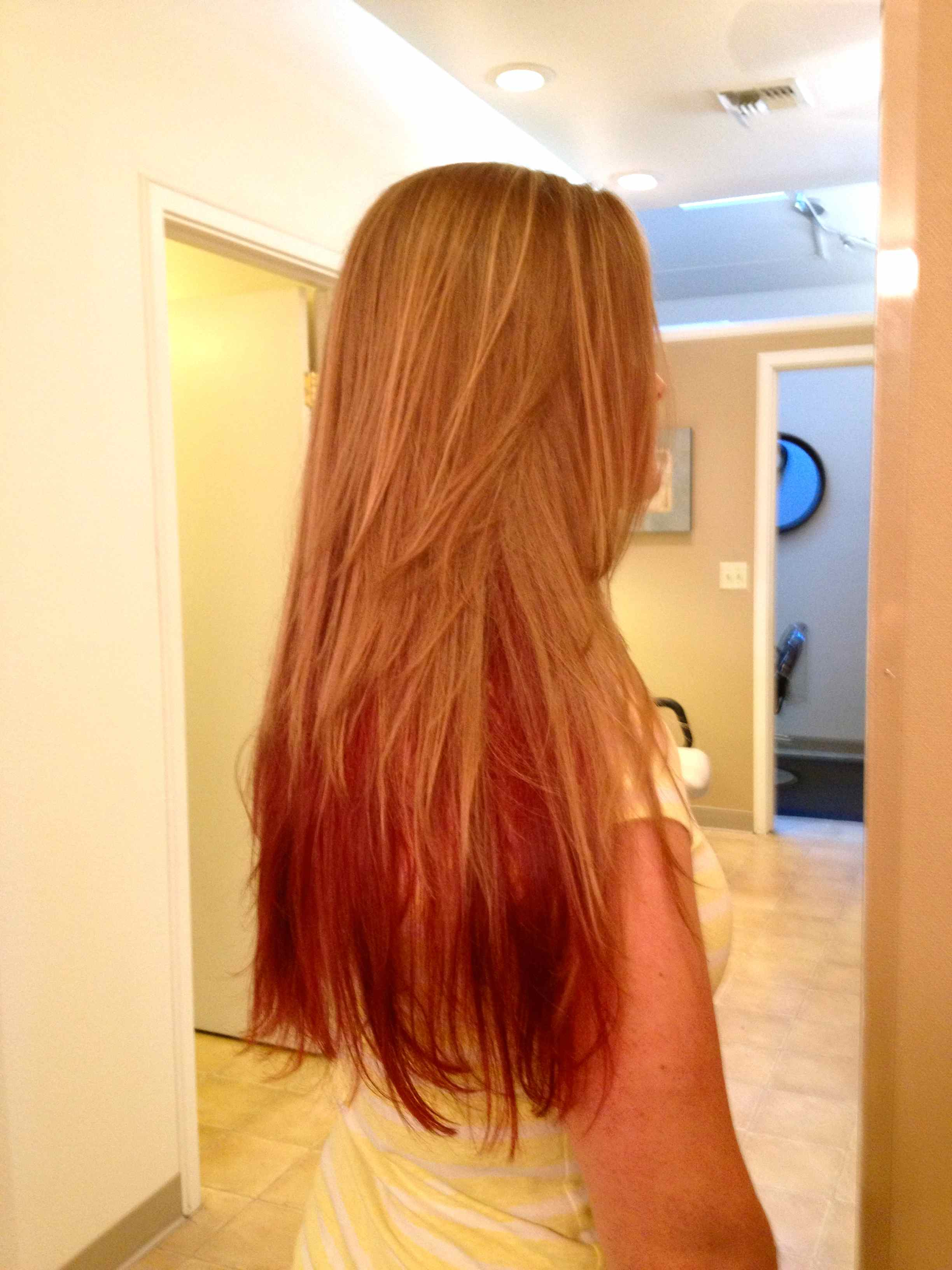the gallery for gt red hair with brown underlayer