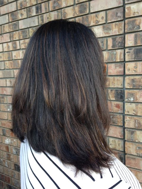 Subtle Balayage Highlights Dark Hair Find Your Perfect Hair Style